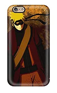 MSBKIrM2745GaVAK Tpu Phone Case With Fashionable Look For Iphone 6 - Naruto Qualitys