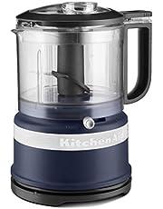 KitchenAid KFC3516IB 3.5 Cup Mini Food Processor- Ink Blue