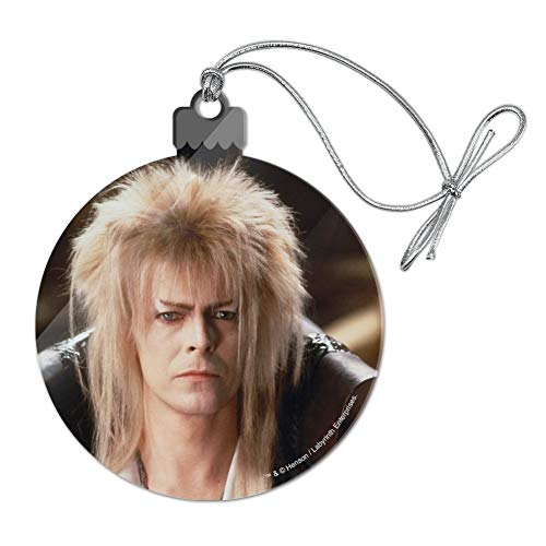 Ornament Ball Portrait - GRAPHICS & MORE Labyrinth Goblin King David Bowie Portrait Acrylic Christmas Tree Holiday Ornament