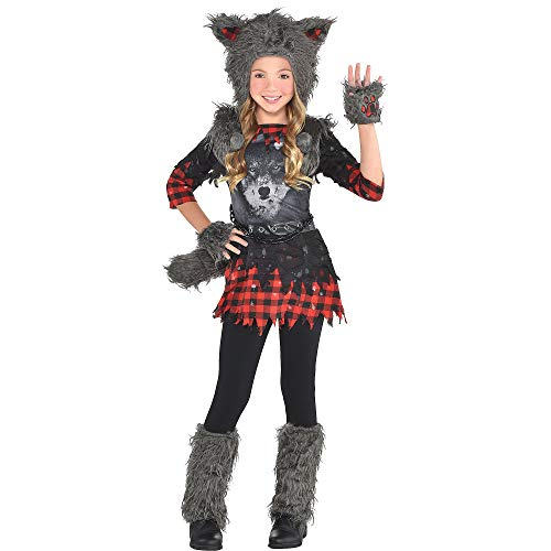 Girls She Wolf Costume - X-Large (14-16)