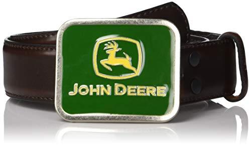 John Deere Boys' Little' CHILDRENS WITH BUCKLE, brown, 24 (Buckles John Deere)