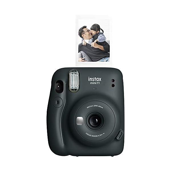 RetinaPix Fujifilm Instax Mini 11 Instant Camera (Charcoal Grey)