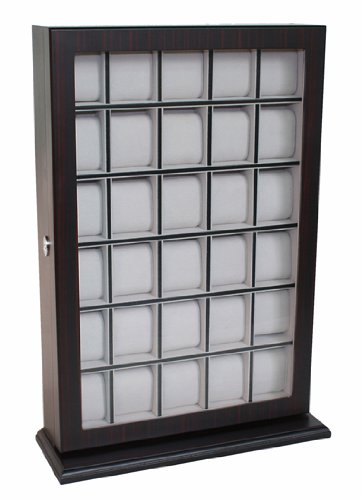 30-piece-ebony-wood-watch-display-wall-hanging-case-and-storage-organizer-box-and-stand