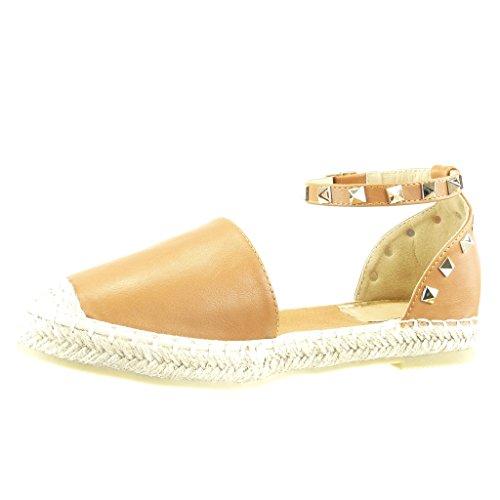 produit chaud meilleur prix pour achat authentique Angkorly Chaussure Mode Espadrille Sandale Ouverte Femme ...