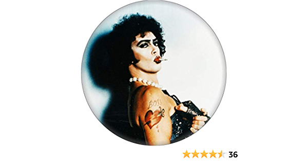 Rocky Horror Picture Show Riff Raff 2.25 Pinback Button Magnet or Bottle Opener