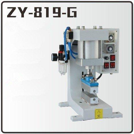 Huanyu InstrumentZY-819G Pneumatic hot foil stamping machine Leather logo creasing machine Pressure words machine Shoelace flattening machine(height:30mm stamping area:40150mm) by Huanyu Instrument