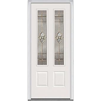 National Door Company Z001424L Steel, Primed, Left Hand In Swing, Exterior  Prehung