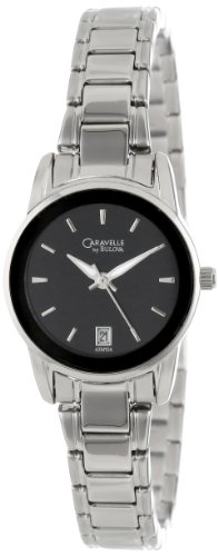 Caravelle by Bulova Women's 43M104 Black Dial Bracelet Watch