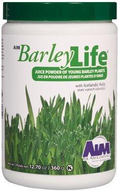 Benefits Of Barley Grass Powder - BarleyLife - Family Size (12.7 oz) Barley Grass Powder