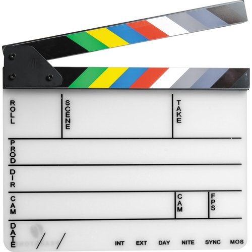 pearstone-acrylic-dry-erase-clapboard-with-color-sticks-9x11-inches