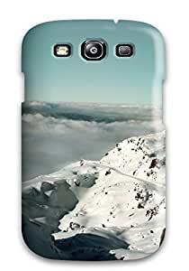 For CaseyKBrown Galaxy Protective Case, High Quality For Galaxy S3 Alps Mountains France Skin Case Cover