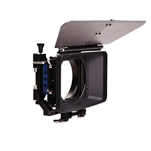 Tilta III 44 Lightweight Matte Box Sunshade DV Video DSLR rig kit for ARRI BMCC C300 5D2 5D3 D800 - Matte Filter Box Dv