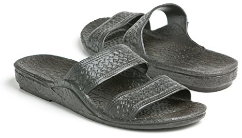 Hawaii Black Black Jesus Pali Sandals rrxIY5qf