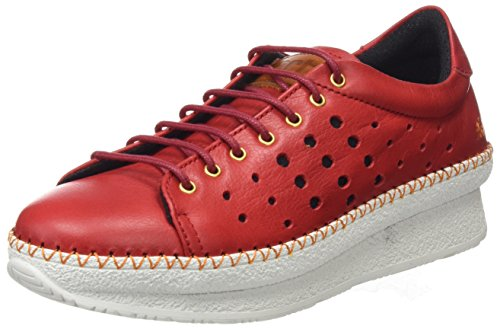 Arte Damen 1351 Memphis Sneakers Pedrera Rot (carmin)