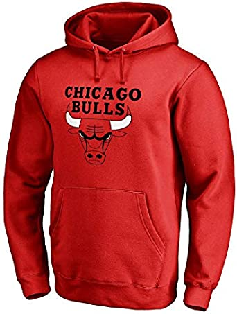 Sudadera con Capucha Chicago Bulls de Manga Larga, Hombres ...