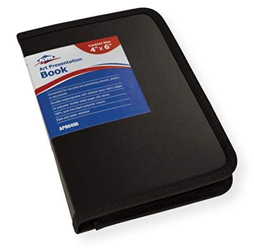 Alvin APB0406 Art Presentation Book, Great for Presentations or Storage, Acid-free, 4