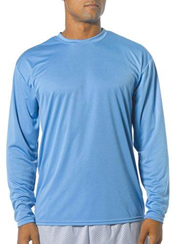 light blue shirt long sleeve - 1