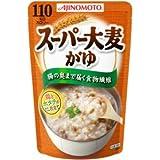 味の素 スーパー大麦がゆ 鶏とホタテのだし仕立て 250g×27袋入/箱〔ケース〕