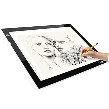 Amazon.com: Litup. Caja de luz., Blanco, A4: Arte ...
