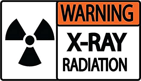 Graphical Warehouse Caution Radiation Area Floor Sign-12