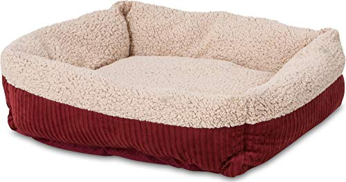 - Aspen Pet Self-Warming Corduroy Pet Bed Several Shapes Assorted Colors