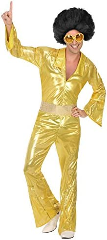 Atosa-39374 Disfraz Disco, Color Dorado, XL (39374): Amazon.es ...