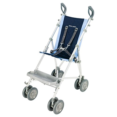 Maclaren Major Elite Transport Chair, Soft Blue/ Navy (Needs Special Stroller)