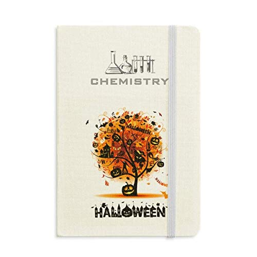 (Halloween Cartoon Tree Pattern Chemistry Notebook Classic Journal Diary)