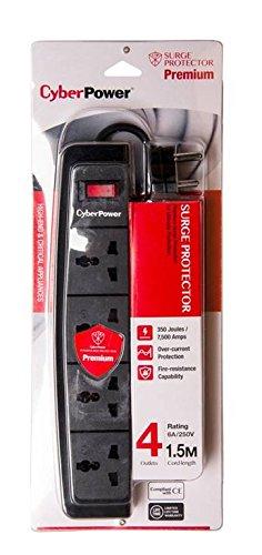 CyberPower BO415SAO-UN 4-Outlet Surge Protector