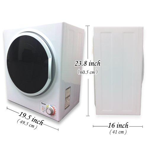 panda portable compact laundry dryer apartment size 110v