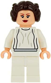Lego Star Wars Minifigure Princess Leia from Millennium Falcon ...