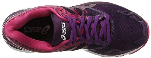 Pink Cosmo Nimbus Mujer Winter Running de Negro Gel 19 Bloom para Zapatillas Black Asics FpPvq5