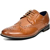 Bruno Marc Men's Florence-1 Leather Lined Dress Oxfords Shoes