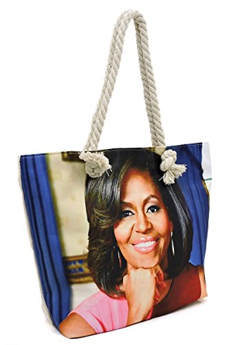 Collage Michelle Magazine Dome Satchel amp; in Obama Cover 1 Glossy Handbag Canvas Set 5 2 Wallet w4naW1PqPE