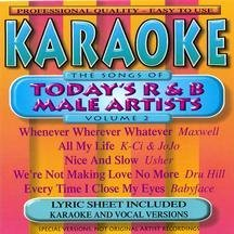 Karaoke: R&B Male Artists 2