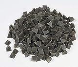 Raytech 41-141 Medium Cut Pyramids Plastic Media, 55 lbs/cu ft Density, 1/4'' Size, Brown, 5lbs Weight