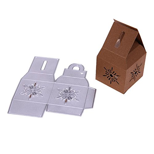 Die Cut - 1pc Snowflakes Box Christmas Metal Cutting Dies Die Cuts Album Embossing Template Card - Card Outs Jungle Plastic Embossing Sticker Ting Stock Grip -