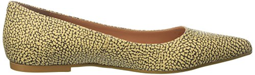 Safari Borbonese Safari F15 Ballet F15 Toe Women's Brown Closed Flats BaBfZq