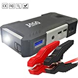 JACO BoostPro Car Battery Jump Starter - Powerful Portable Power Bank - 600A/16500mAh