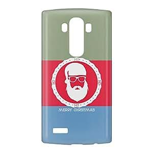 Loud Universe LG G4 Christmas Color Santa Badge Print 3D Wrap Around Case - Multi Color