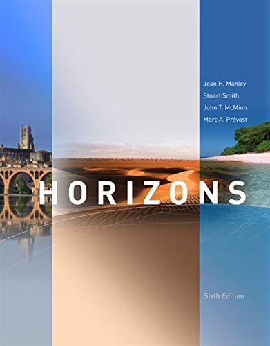 Horizons, 6th Edition (World Languages)