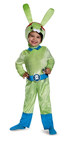 Tweak Bunny Classic Octonauts Silvergate Media Costume, Small/2T -