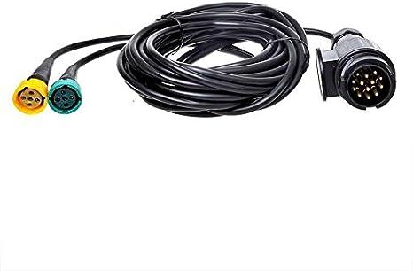 APT Kit de c/âble de remorque 13 broches pour voiture
