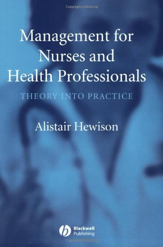 Download Management for Nurses and Health Professionals: Theory into Practice Pdf