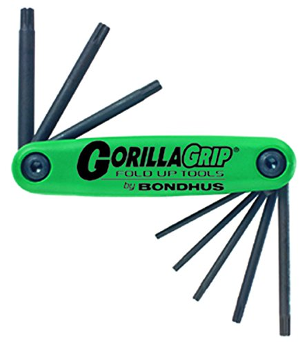 Bondhus GorillaGrip Set 8 Star Fold-Up Tool
