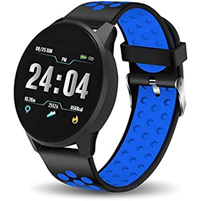 HFXLH New Women Smart Bracelet Fitness Tracker IP67 Waterproof Smart Watch Blood Pressure Monitor Pedometer Wristband Sport Watch Estimated Price £45.18 -