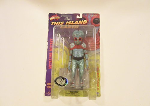 universal monsters series three this island earth metaluna mutant figure by sideshow toys