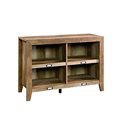 """Sauder Dakota Pass Four Shelf Cubby Storage 29"""" H - Construction: laminate Shelves: four (two adjustable) Holds TVs up to 42"""" and 50 lbs - tv-stands, living-room-furniture, living-room - 41 H8I45SGL. SS400  -"""