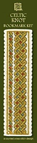 Celtic Knot Bookmark - Green - Cross Stitch Kit