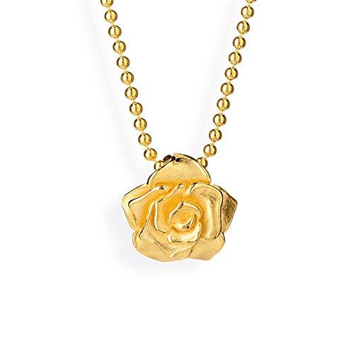 Drachenfels-pendentif femme-argent 925/1000-rose mat of antoine-rOF aGG 31/d